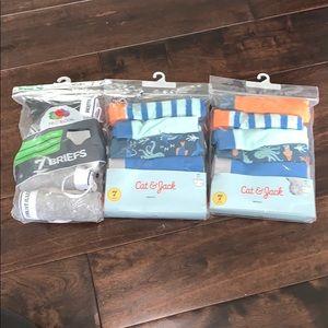 Boys mixed briefs underwear! Size XS 4-5! 18 pairs